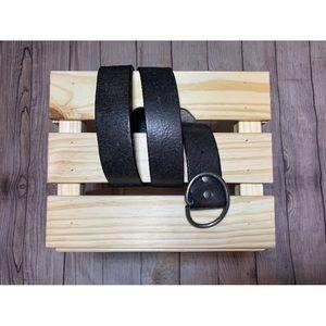J Crew flexible sized belt black